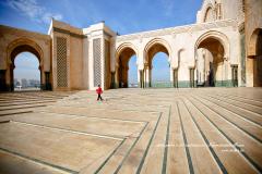 La plus grande mosquée du tout Maroc