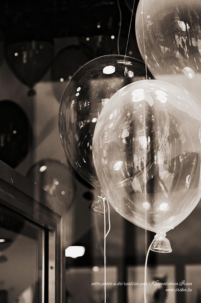 Ballons en verre