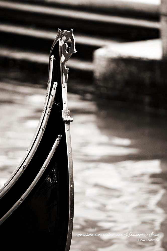 Pointe d'une gondole