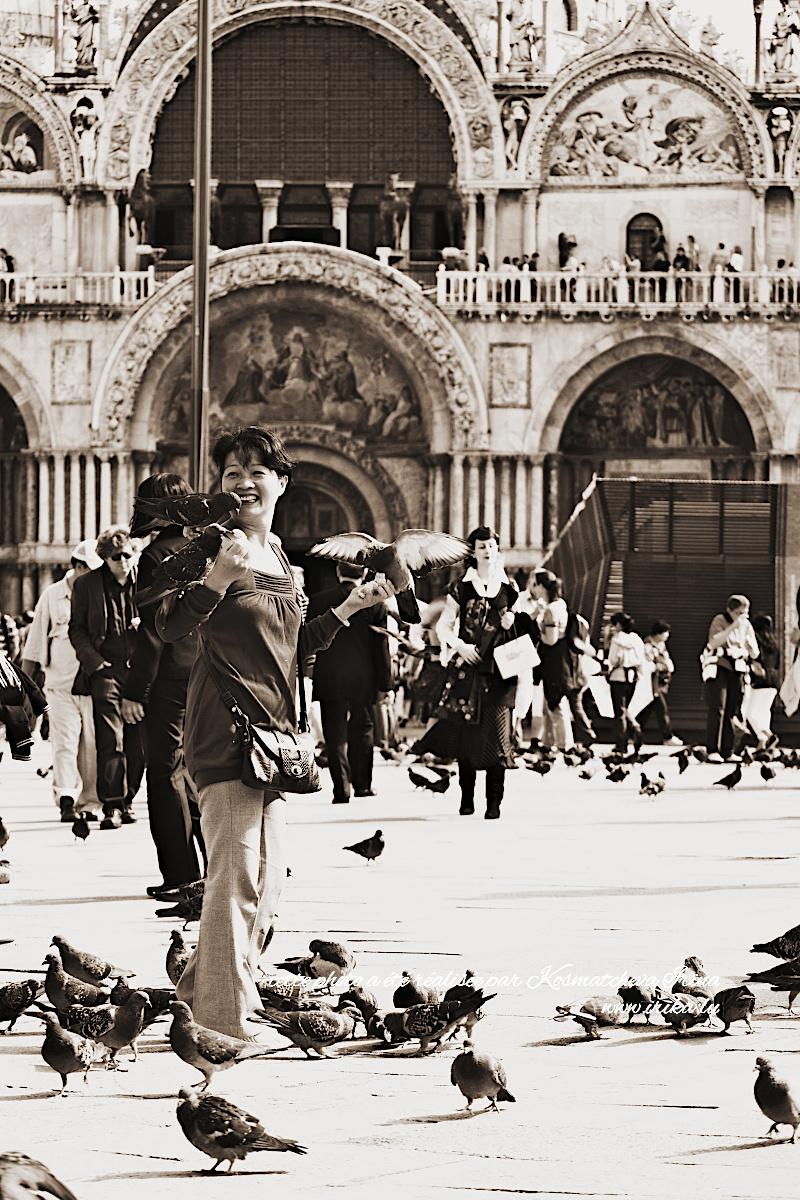 Touriste chinoise